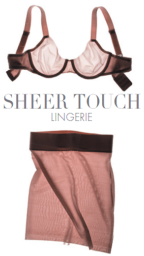 Sheer Touch Bra and Forming Skirt