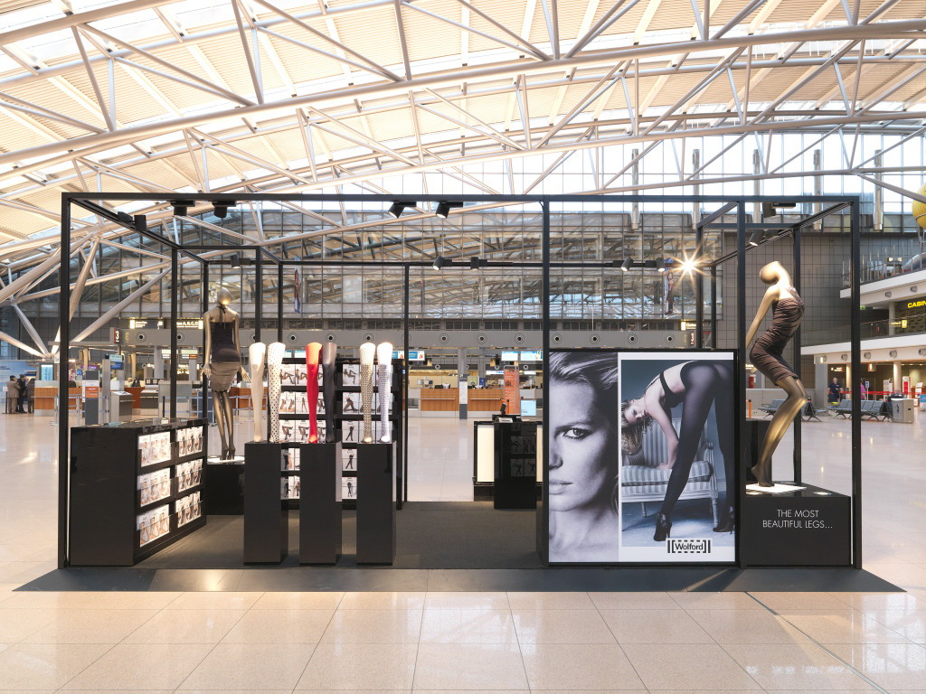 Pop-Up store Hamburg Airport